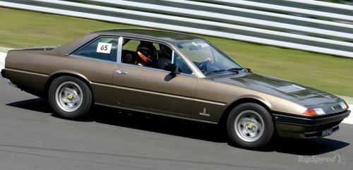 На фото Феррари-400 GT