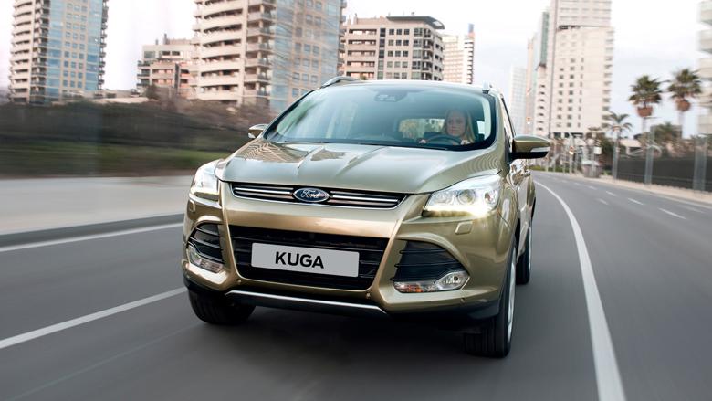Ford Kuga вид спереди