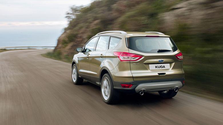 Ford Kuga: вид сзади
