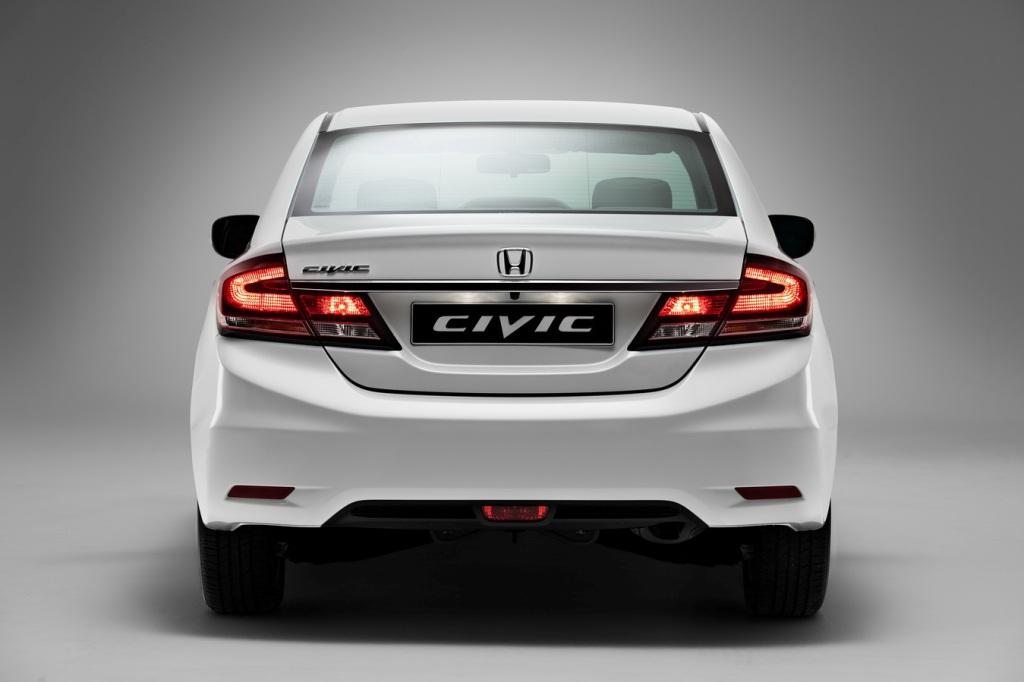 Honda Civic: вид сзади