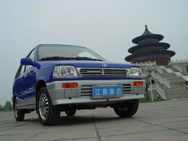 Один из самых дешёвых китайских автомобилей в мире