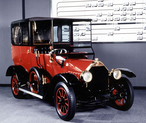 Первое авто концерна Mitsubishi