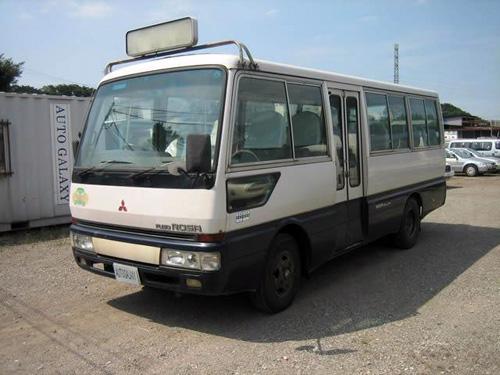 Автобус компании Mitsubishi