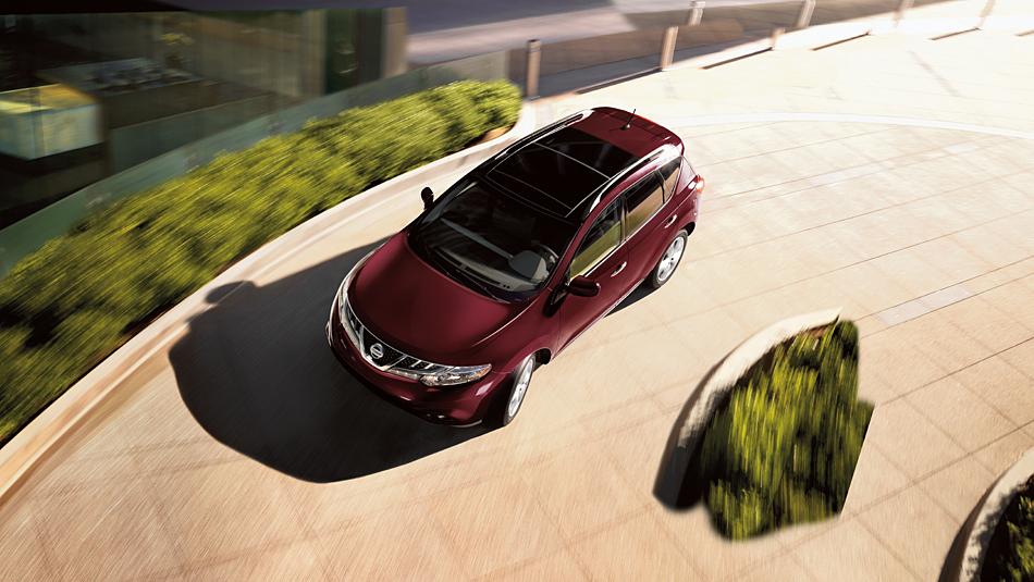 Nissan Murano: вид сверху