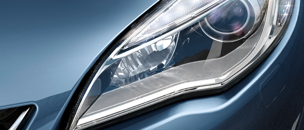 Фара Opel Astra