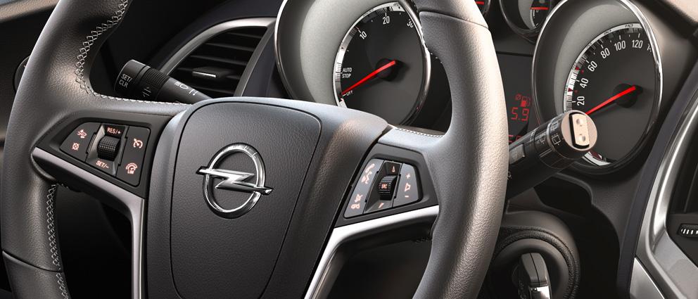Руль Opel Astra