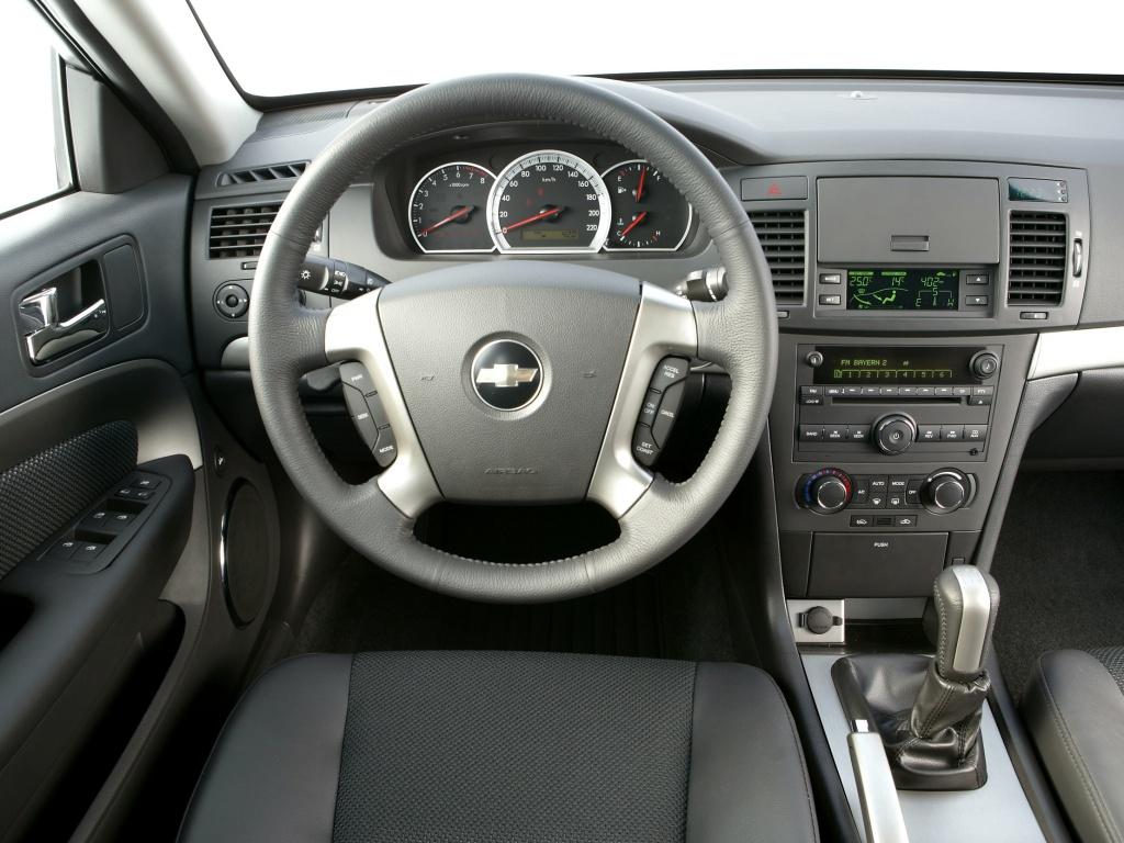Панель управления Chevrolet Epica