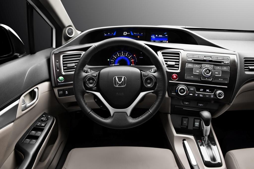 Панель управления Honda Civic