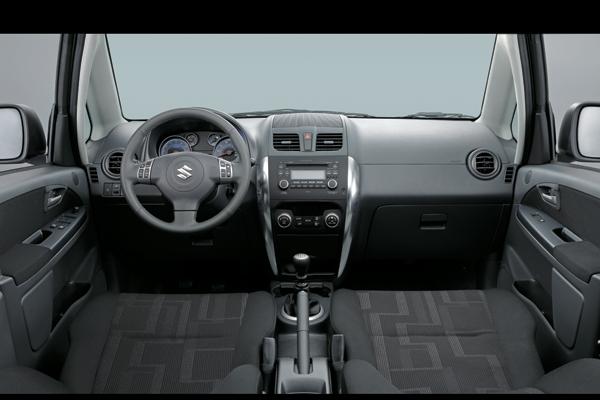 Панель управления Suzuki SX4