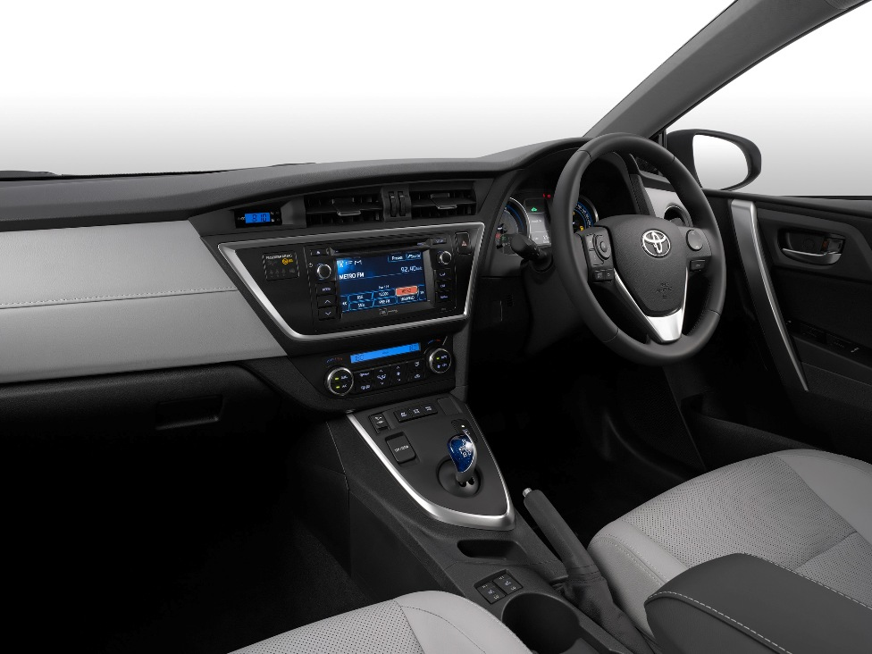 Панель управления Toyota Auris