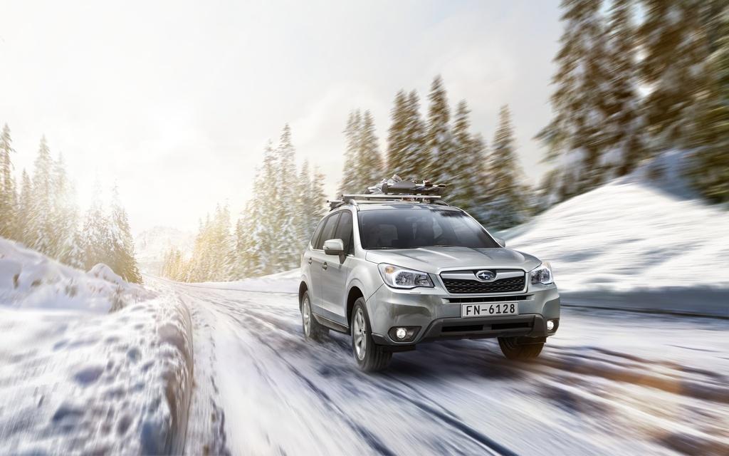 Subaru Forester: вид спереди