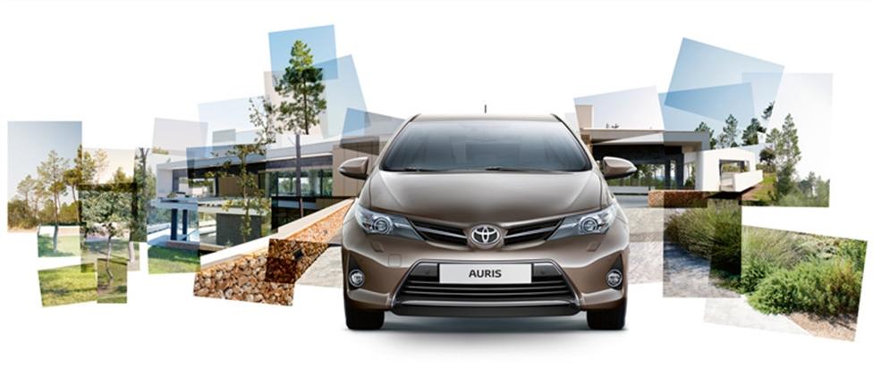 Toyota Auris: вид спереди