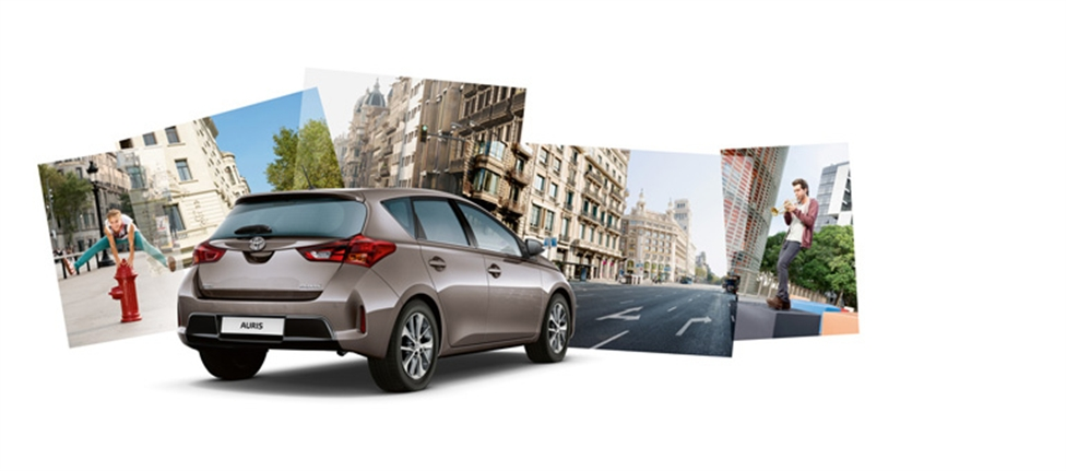 Toyota Auris: вид сзади