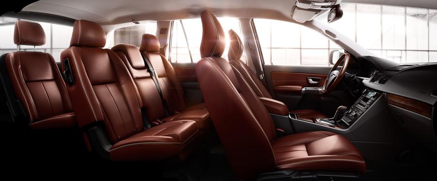 Интерьер Volvo XC90