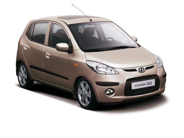 Hyundai i10 — дешёвый автомобиль, впервые представленный в Индии