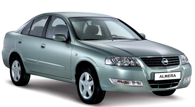 Внешний вид автомобиля Nissan Almera
