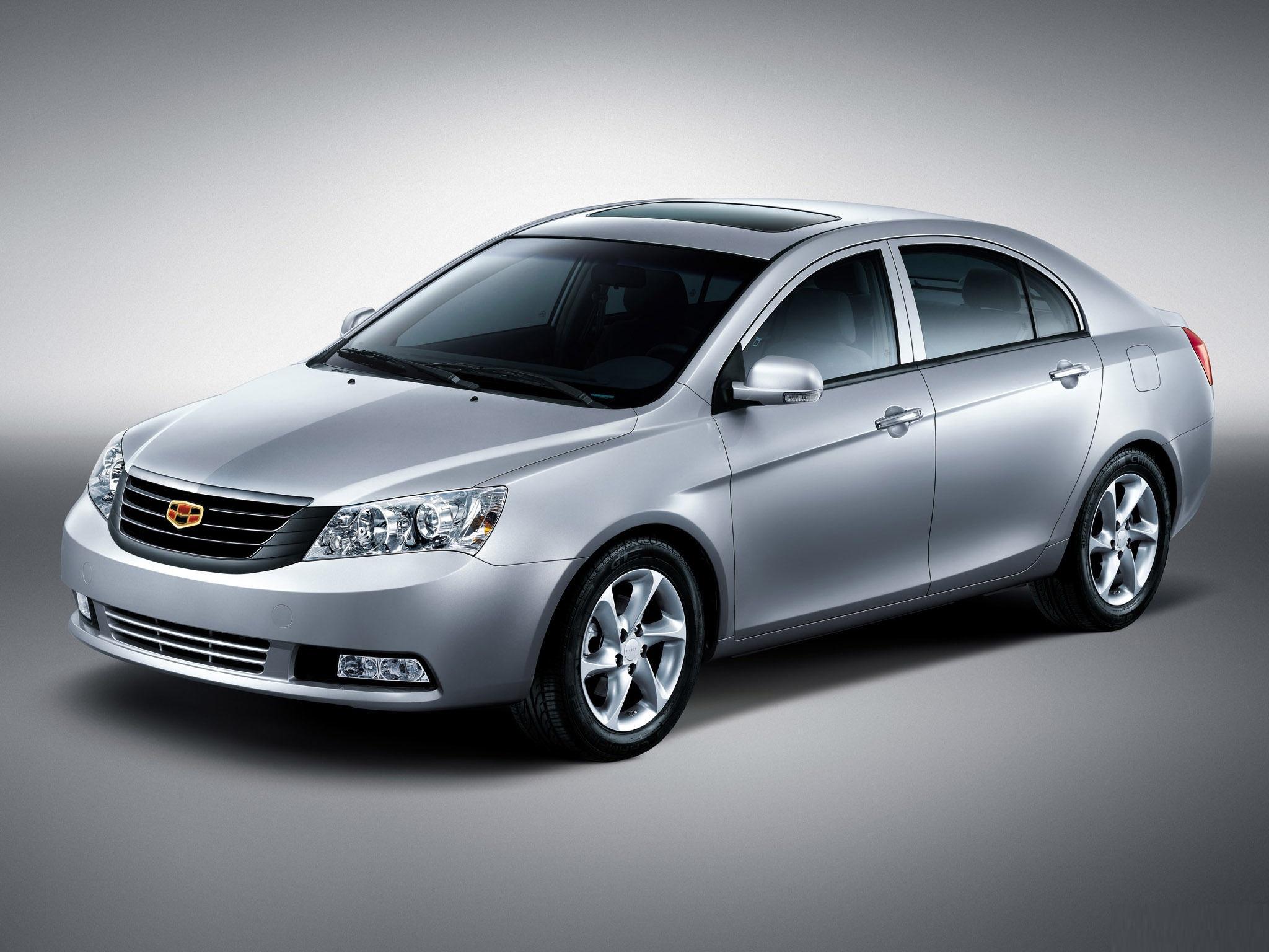 Китайский автомобиль Geely Emgrand с вариатором
