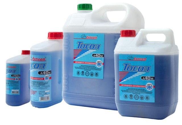Тосол — незамерзающая охлаждающая жидкость