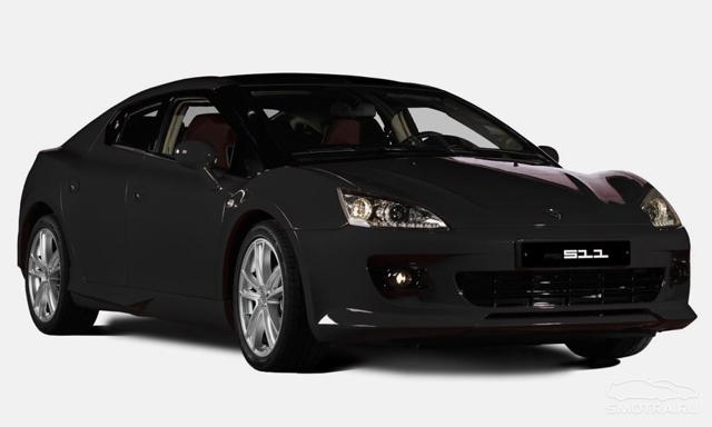 Автомобиль ТагАЗ Aquila в чёрном цвете