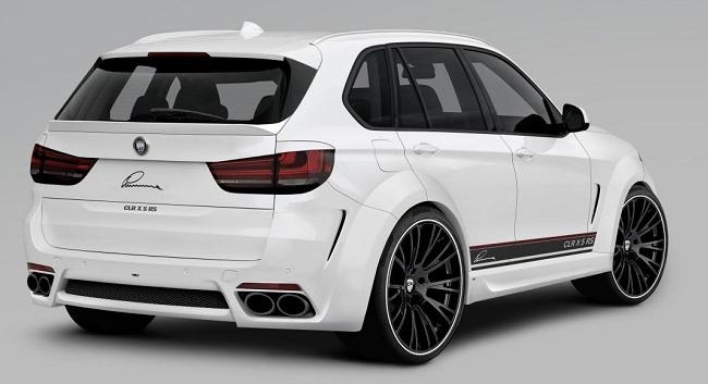 Тюнингованный BMW X5