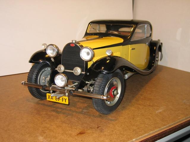 Раритетный автомобиль Bugatti Type 50