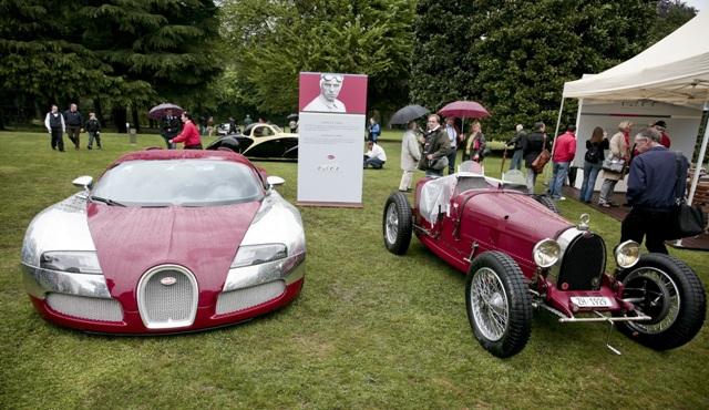 Bugatti Veyron и Bugatti Type 35