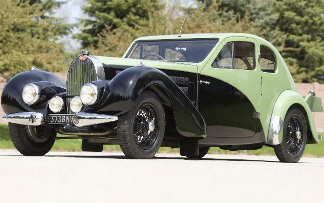 Bugatti Type 57 — автомобиль, на котором разбился Жан Бугатти
