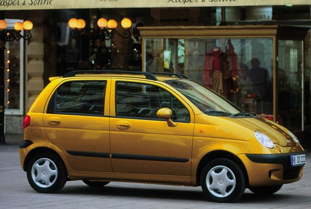 Daewoo Matiz — отличный автомобиль для города