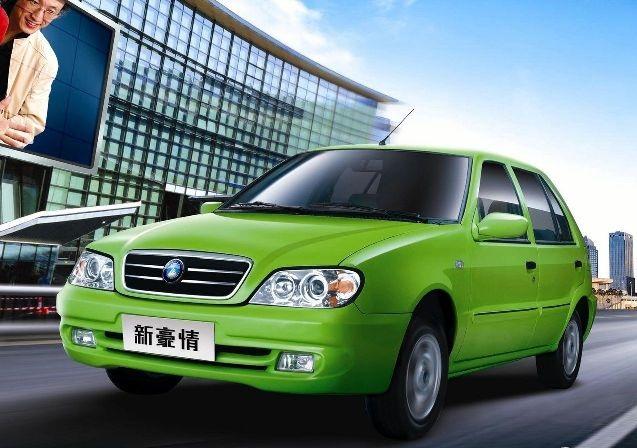 Geely Merrie — очередной дешёвый автомобиль из Китая