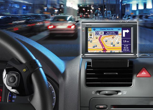 GPS-навигатор поможет ориентироваться в незнакомом городе