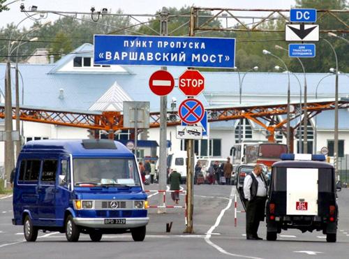 Граница России и Польши