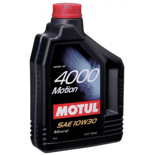 Пример минерального моторного масла