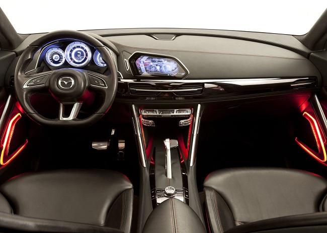 Интерьер Mazda CX5