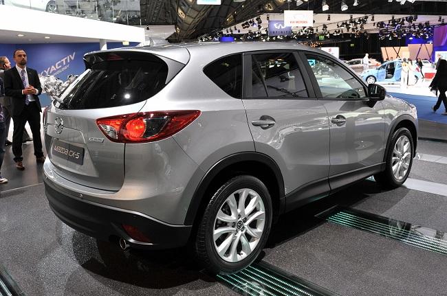 Задняя часть Mazda CX5