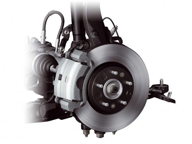 Пример тормозной системы автомобиля
