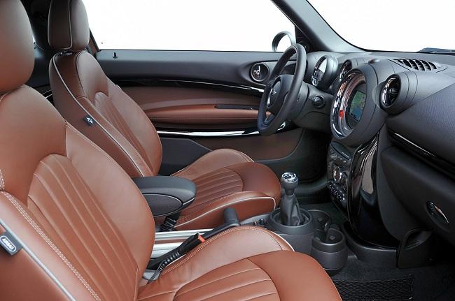 Интерьер Mini Cooper S