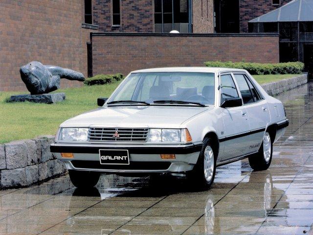 Автомобиль Мицубиси Галант 1980 года выпуска