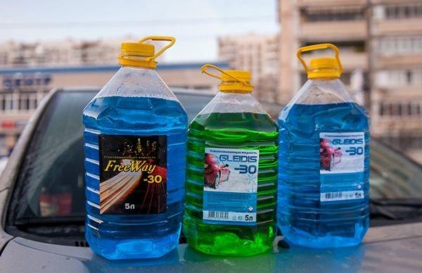 Незамерзающая жидкость до температуры -30