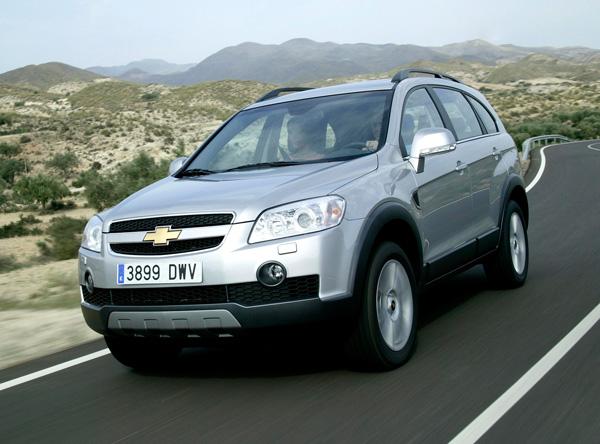 Внешний вид автомобиля Chevrolet Captiva