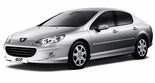 Внешний вид автомобиля Peugeot 407