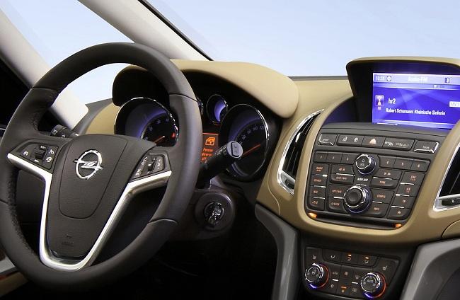 Панель приборов Opel Zafira Tourer