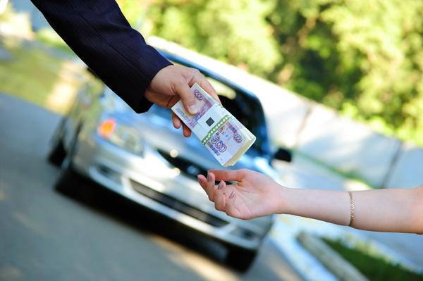 Передача денег при покупке подержанного автомобиля
