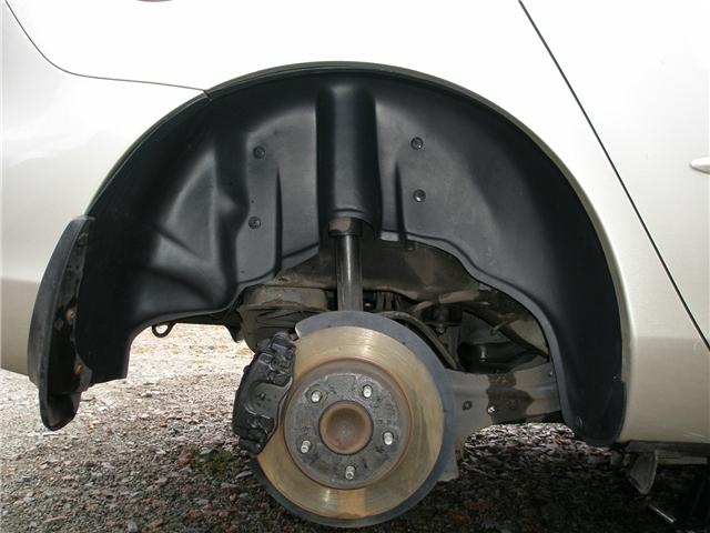 Пластиковые подкрылки — важный элемент комплексной защиты автомобиля