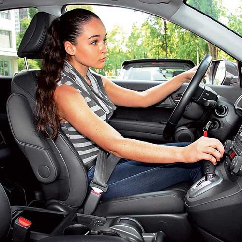 Как правильно сидеть за рулём