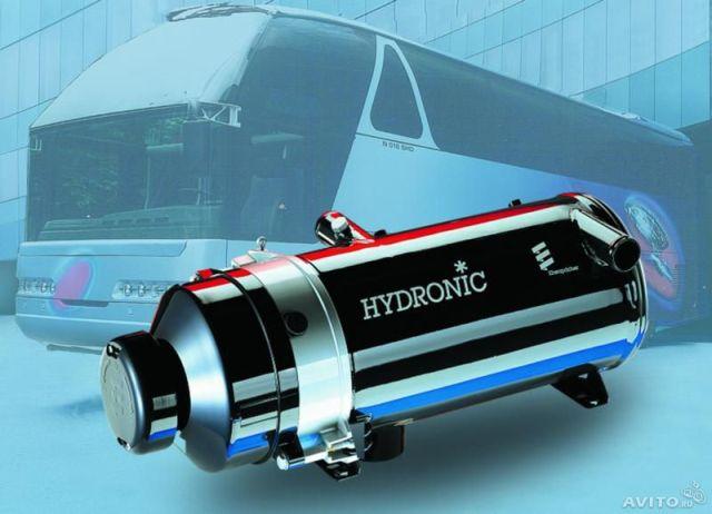 Мощный предпусковой подогреватель Hydronic для дизельных двигателей