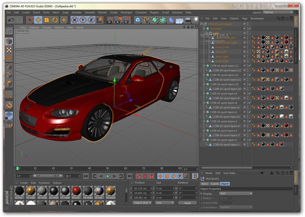 Виртуальный 3D тюнинг автомобилей