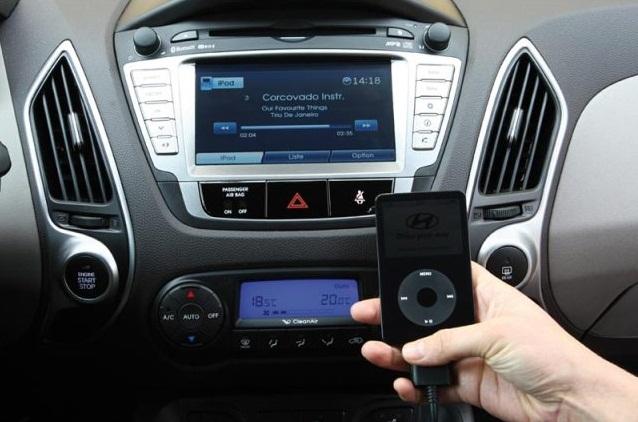 Аудиосистема автомобиля Hyundai ix35