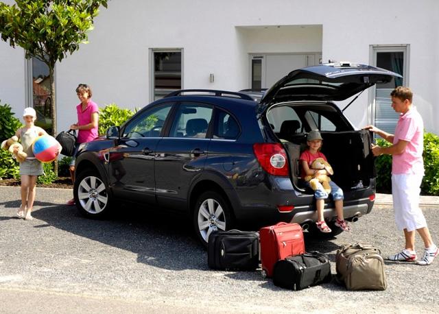 Путешествие на автомобиле всей семьёй