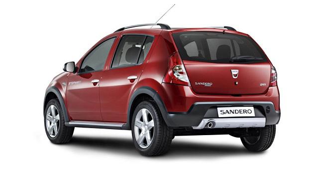 Внешний вид Renault Sandero