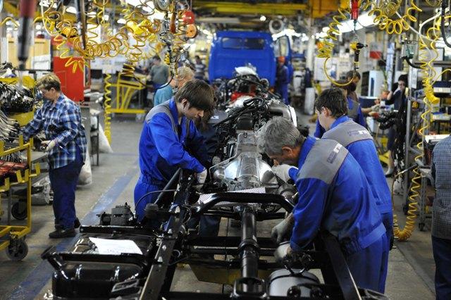 Автомобилестроение — производство транспортных средств